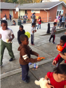 Kids Building Community
